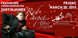 2015 Spinal Cord Injury Alberta Red Carpet Affair