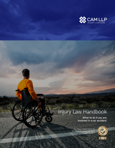 CAM LLP Injury Law Handbook cover